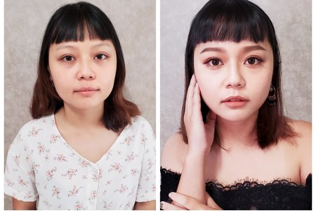 Serin曦曦/歐美新娘造型X黑髮編髮造型
