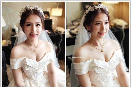 氣質白紗新娘造型(持續更新)Serin Style