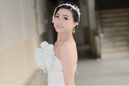清純新娘造型