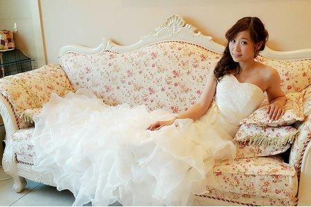 氣質優雅的韓風新娘
