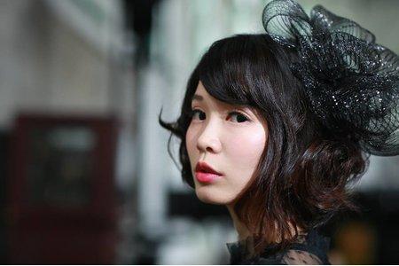 朱朱的個人婚紗寫真~黑色小禮服造型