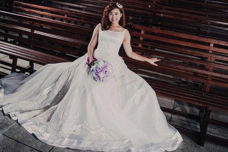 運蓉的棉花糖婚紗寫真