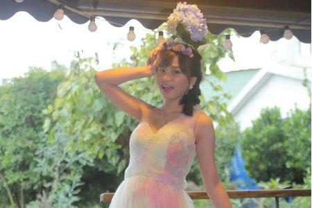 閨蜜婚紗~小茜的個人寫真側拍