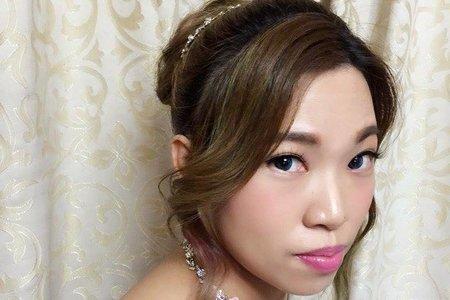 elsa的可愛日系丸子頭造型