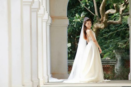維娜的個人婚紗寫真外拍