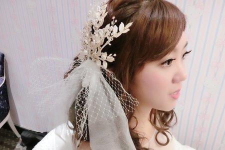 小雅結婚白紗進場