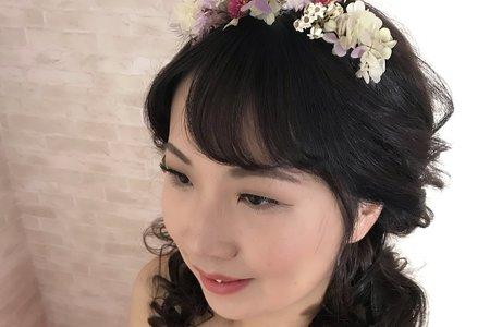 新娘造型作品