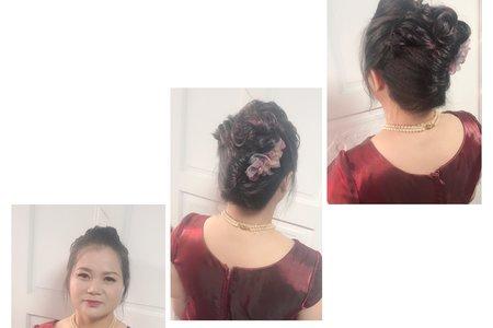 媽媽妝髮造型作品