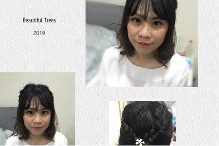 親友妝髮造型服務