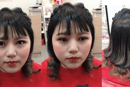 親友妝髮作品