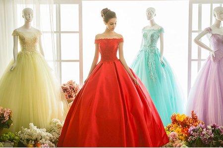 珍珠水晶禮服