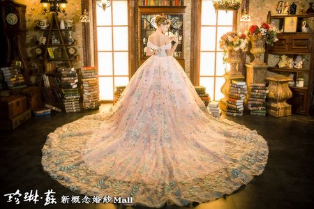 主題禮服:花漾女神大裙擺