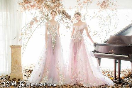 主題禮服:浪漫素雅系列