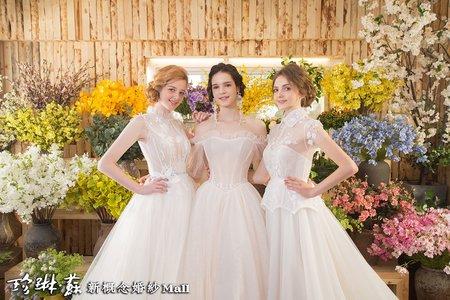 主題禮服:典雅手工白紗系列