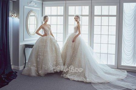 清新優雅白紗系列