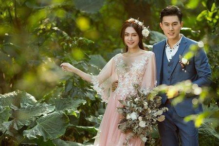 攝影作品:花嫁