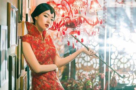 龍鳳褂、旗袍