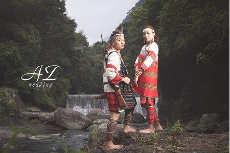 自然清新 | 原住民服裝