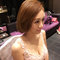 長髮變短髮的新娘造型(編號:511565)