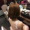 長髮變短髮的新娘造型(編號:511566)
