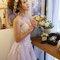 主題婚紗=白雪公主 以白雪公主為主題 利用乾燥花+鬆鬆的髮型和粉色系的妝感 打造出浪漫唯美的感覺(編號:514040)