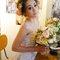 主題婚紗=白雪公主 以白雪公主為主題 利用乾燥花+鬆鬆的髮型和粉色系的妝感 打造出浪漫唯美的感覺(編號:514044)