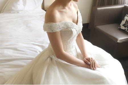 史黛西婚禮(白紗造型)