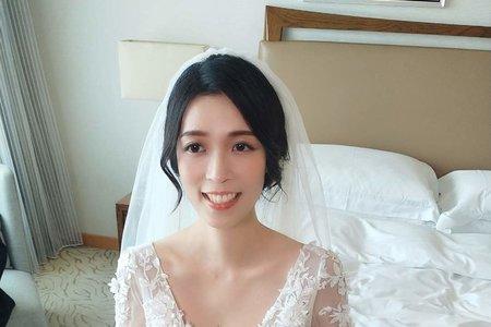 黑髮氣質新娘 纖評