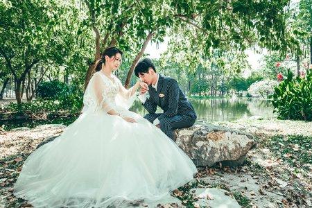 高雄婚紗攝影💛高雄韓系婚紗-四月神話自助婚紗