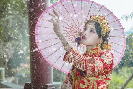 中國風拍攝