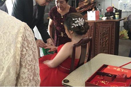 賴&苗訂結同天彰化新娘秘書