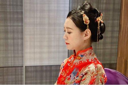 秀禾服 中國風 旗袍 掛裙