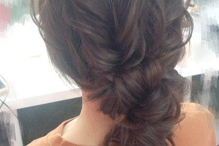 日系輕線條髮型
