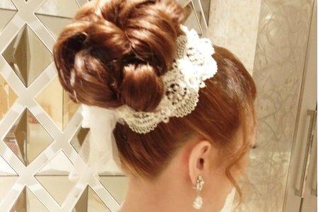 惠菱--高髮髻盤髮