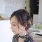 Emily Jian.鬆軟髮絲浪漫低盤髮