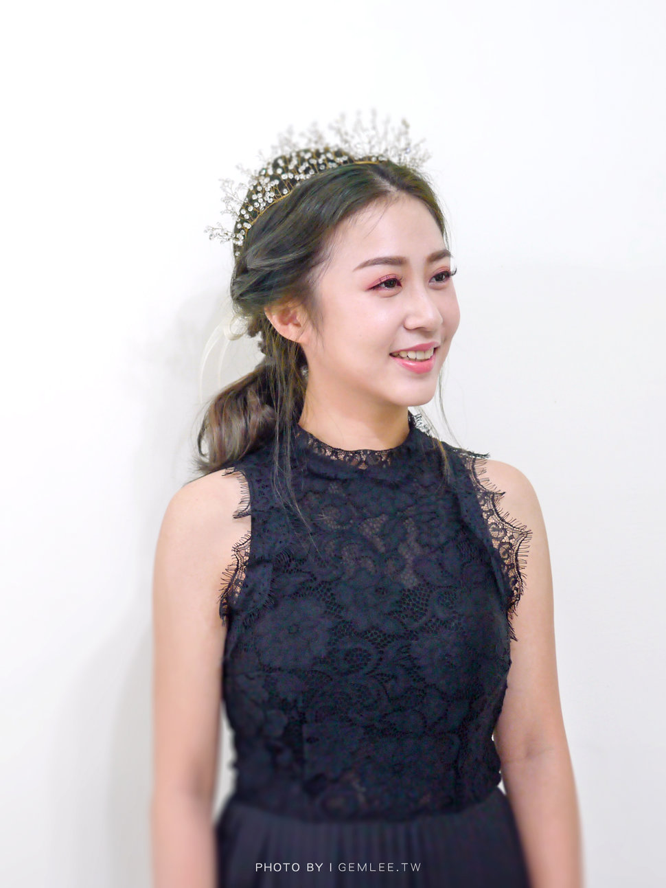 圓韻.韓系氣質低馬尾 - Gem.L 美妝婚禮造型💛高雄台南新秘💛 - 結婚吧