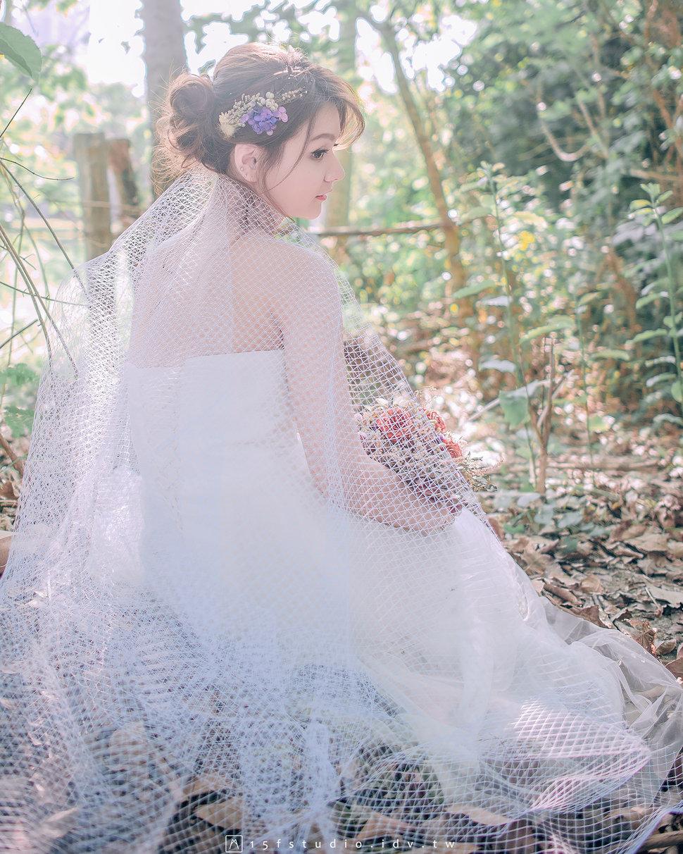 美式婚紗.小瑜 - Gem.L 美妝婚禮造型💛高雄台南新秘💛 - 結婚吧