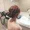 高雄新秘Gem》短髮新娘造型.和樂宴會廳午宴