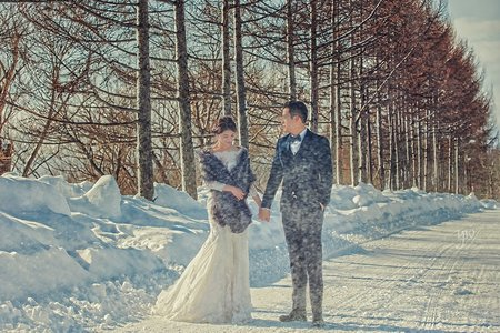 【海外婚紗】 北海道