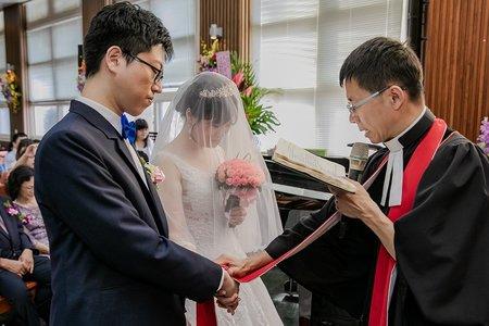 【婚禮平面紀錄】迎娶+教堂儀式+晚宴  頤品飯店