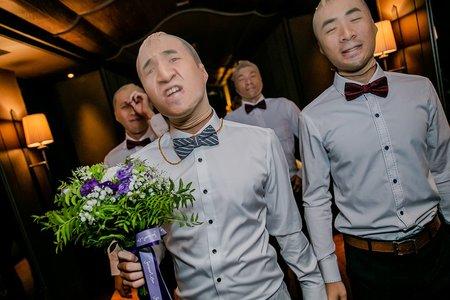 【婚禮平面記錄】君品/世貿33 文定+迎娶+午宴