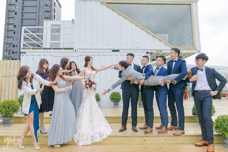 【婚禮】新板彭園/整日拍攝