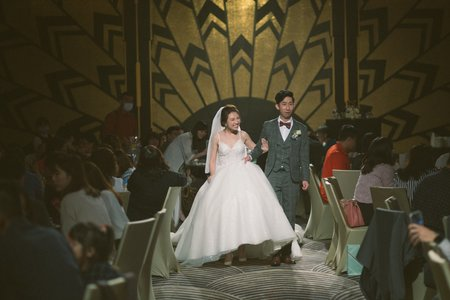 [ 婚攝 | 婚禮紀錄 ] 佩芳+小賀 高雄台鋁晶綺盛宴黃金廳