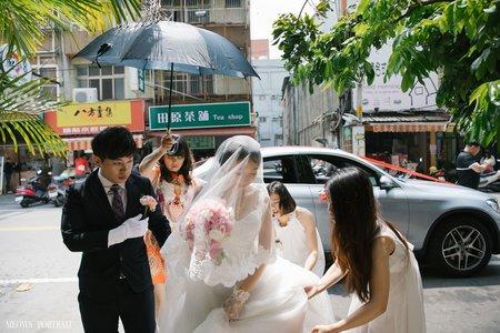 婚禮紀錄|彥佑 + 人瑄 (結婚儀式)