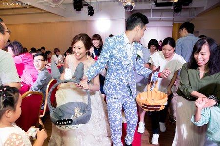 趙喵喵婚禮紀實|暐翔 + 楷雯|聖雲宮活動中心|婚禮攝影|高雄婚攝