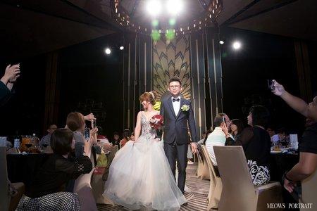 趙喵喵婚禮紀實|家豪 + 庭紹|台鋁晶綺盛宴黃金廳|婚禮攝影|高雄婚攝