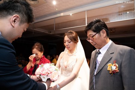 趙喵喵婚禮紀實|宇辰 + 依鈴|晶頂101海鮮餐廳|婚禮攝影|高雄婚攝