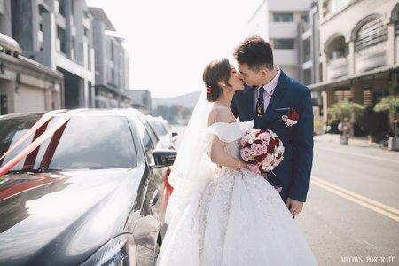 趙喵喵婚禮紀實|培鈞 + 侖縈|享溫馨喜宴會館|婚禮攝影|高雄婚攝