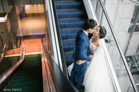 趙喵喵婚禮紀實|聖銘 + 如盈|彭園婚宴會館-新板館|婚禮攝影|高雄婚攝
