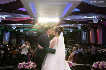 趙喵喵婚禮紀實|秉呈 + 圓如|晶饌婚宴會館|婚禮攝影|高雄婚攝